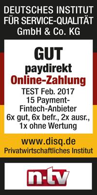 Siegel für paydirekt